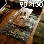 ラグマットヴィンテージ北欧カーぺットインド高級ラジRAJ-1801約130×190cm【北欧ヴィンテージサーフカジュアルじゅうたん絨毯】【】