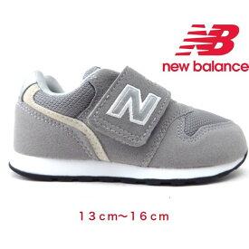 New Balance IZ996CGY ベビー グレーマジック ファーストシューズ 幅広 キッズ幼稚園 保育園 学校 通学 通園