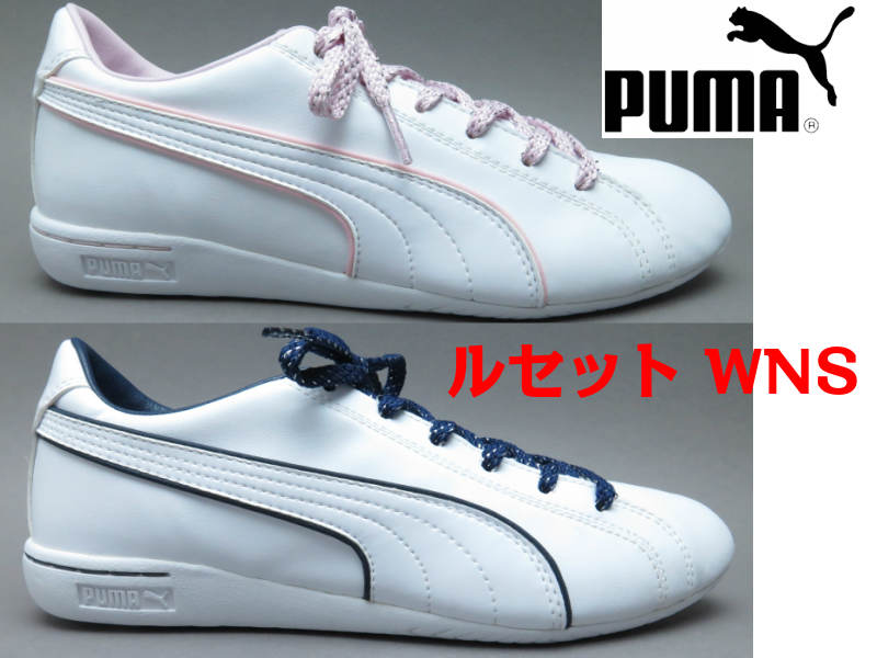 PUMA プーマ ルセット WMS 360576プーマレディース /レディース/ スニーカー /ホワイト23cm 23.5cm 24cm 24.5cm 25cm