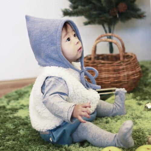 まるでおとぎ話の主人公♪こびとセット(帽子・ベスト・パンツ3点セット)【出産祝いギフト】ママとベビーの 赤ちゃん 帽子 耳がかくれる 冬 男の子 女の子 上下セット セットアップ ベビー服 衣装 コスチューム コスプレ 子供 かわいい 着ぐるみ 内祝い リシュマム