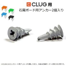 【送料無料】世界最小のバイクスタンドCLUG用石膏ボードアンカー2個セット