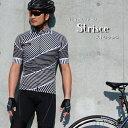 【送料無料】サイクルウエア『ストリッシュ』高品質おしゃれデザイン半袖 S・M・L・XL・XXL各サイズ 313
