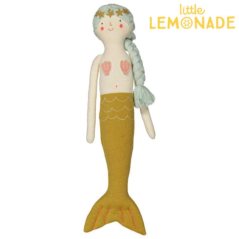 【Meri Meri】マーメイド ぬいぐるみ 人形 クッションKnitted mermaid Cushion 【インテリア 子ども部屋 キッズルーム ファブリック 人魚姫 】【誕生日プレゼント ギフトに】  あす楽 リトルレモネード