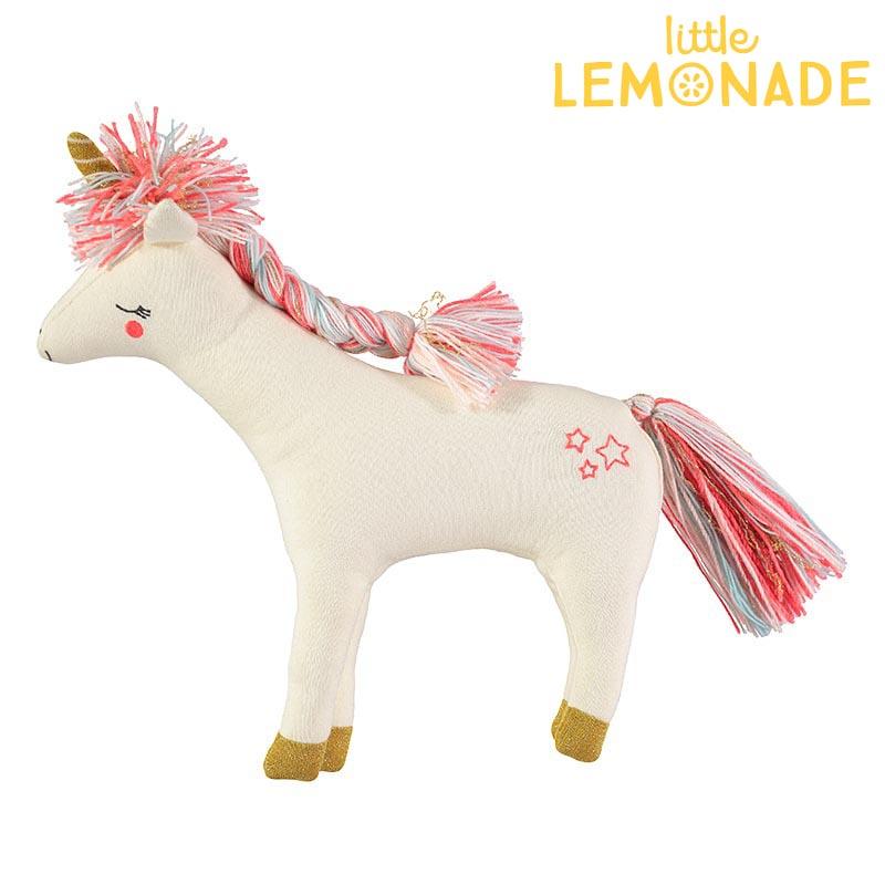 【Meri Meri】ユニコーン ぬいぐるみ クッション knitted unicorn Cushion 【インテリア 子ども部屋 キッズルーム ファブリック ポニー アニマル 動物】【誕生日プレゼント ギフトに】  あす楽 リトルレモネード
