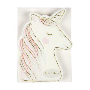 【MeriMeriメリメリ】ユニコーンペーパープレートナプキン8枚入り【unicornホームパーティー誕生日お祝いペーパータオルNapkinナフキン紙ナプキンバースデイバースデー】リトルレモネードあす楽