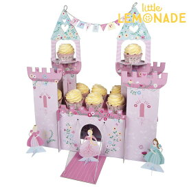プリンセス キャッスルセンターピース 【I'm a princess】【Meri Meri】【誕生日 飾り プリンセス お姫さま センターピース カップケーキスタンド cupcake stand インテリア ディスプレイ コーディネート】あす楽 リトルレモネード