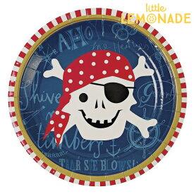 ペーパープレート 海賊【Pirate】【Meri Meri】【誕生日 紙皿 飾り バースデー ファースト バースデイ ハーフバースデー birthday party キッズ パイレーツ テーブルコーディネート】あす楽 リトルレモネード