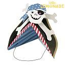 あす楽!【meri meri メリメリ】 パーティーハット 海賊 パイレーツ 【Pirate】パーティー用帽子 子供用ハット リトルレモネード
