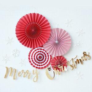 MerryChristmasスクリプトガーランドゴールド筆記体バナー【gold】メリークリスマス【GingerRay】【Xmasバナーデコレーション飾り付けパーティ—クリスマスパーティ—】あす楽リトルレモネード