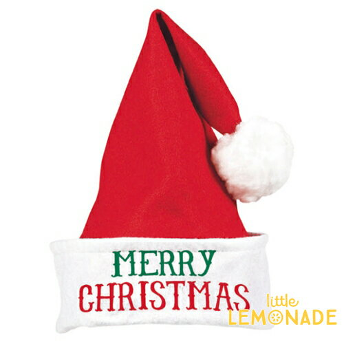 あす楽!サンタクロース帽子【 ぽんぽん付き サンタ帽 コスプレ クリスマス パーティー 変装】【クリスマス X'mas】リトルレモネード