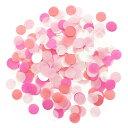 あす楽!コンフェッティ 【ピンク】 紙吹雪 Pink Punch 装飾 バルーン 結婚式 プレ花嫁 ペーパーシャワー