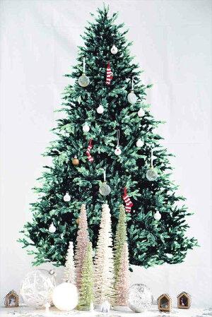 グリッタースリムツリー/パステルホワイト【Mサイズ】【X'masChristmasグリッターラメ飾りパーティークリスマスデコレーションオーナメントインテリアデコレーションメリークリスマスツリーXmas2018】あす楽リトルレモネード