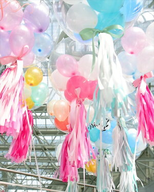 バブルバルーン・コンフェッティバルーン風船