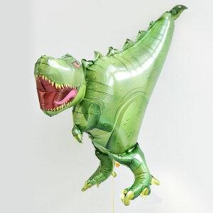 【送料無料】T-REXバルーンレックス恐竜ドラゴンダイナソー【浮かせてお届け】ヘリウムガス入りティラノサウルスお祝い誕生日バースデイパーティー風船ディスプレイレセプション装飾装飾パーティ—あす楽リトルレモネード