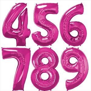 【数字バルーン】約90CMのビッグナンバーバルーン※ガス無し【シルバー】お誕生日のお祝いの飾り付けに【バースデイパーティーデコレーションフィルム風船】【ネコポス発送可】