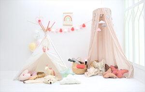 あす楽!【amabroアマブロ】KIDSTIPI/Pink【キッズテントティピ—ハウステント隠れ家北欧インテリアキッズルーム】