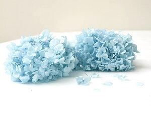 【あじさいヘッド/ブルー】プリザーブドフラワー紫陽花青ドライフラワーインテリアボタニカル花飾りテーブル装花ディスプレイデコレーションハーバリウムonoenあす楽リトルレモネード