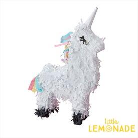 ユニコーンのピニャータ 高さ17cm アクティビティに人気【Ginger Ray】unicorn Make A Wish デコレーション装飾 飾り付け 誕生日 パーティ— お祝い イベント バースデイ 女の子 あす楽 リトルレモネード