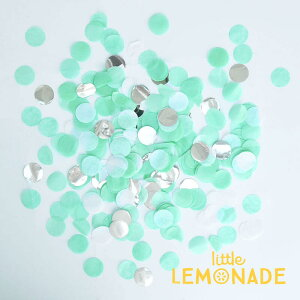 【Little Lemonade】コンフェッティ シーシェル 50g入り 【紙吹雪 装飾 結婚式 パーティー お祝い】 グリーン 飾り付け 誕生日 お祝い デコレーション confetti Seashell】リトレモブランド あす楽 リ