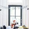 """あす楽!【mymind'seyeマイマインズアイ】HAPPYHALLOWEENトリックオアトリートバナー""""TrickorTreat""""LetterBanner【ガーランドパーティー装飾HALLOWEENハロウィン】リトルレモネード"""