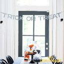 """ハロウィン 飾り HAPPY HALLOWEEN トリックオアトリートバナー【my mind's eye】 """"Trick or Treat"""" Letter Banner 【…"""