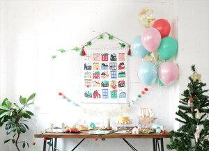 【PaperSource】動くサンタのアドベントカレンダー2018【12月クリスマスギフトサンタさんおしゃれシンプルスタイリッシュペーパーソース】AdventCalendarクリスマスのカウントダウンXmas2018あす楽リトルレモネード