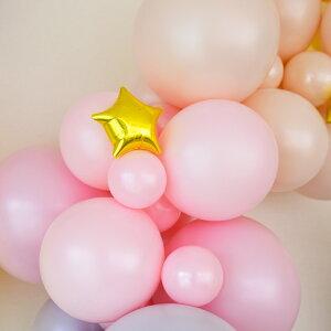 【バラ売り13cmミニスター全6色フィルムバルーン】バルーン風船星スターパステルカラーキキララゴールドシルバーピンクラベンダーパーティー誕生日飾り付け装飾あす楽リトルレモネード