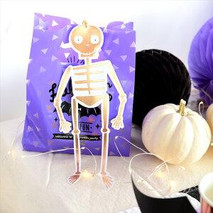あす楽!【MeriMeriメリメリ2017】がいこつのハンギングデコレーションスケルトンハロウィンパーティー飾り付け骸骨ローズゴールドHalloweenハロウィーン飾り付けリトルレモネード