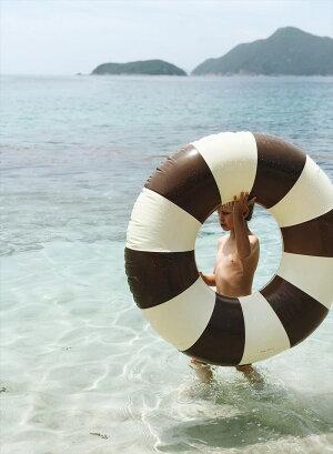 【PetitesPommes】浮き輪【120cm大人用】ヴィンテージストライプデンマークユニセックスベビー赤ちゃん子供男の子女の子水遊びプールフロートおしゃれあす楽リトルレモネードCELINEGrandFloat