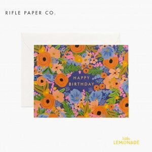 【RIFLE PAPER】 シモーネ・バースデーカード / Simone Birthday バースデイカード 誕生日 Birthday カード message card メッセージカード グリーティング メッセージ greeting プレゼント お祝いー ライフル