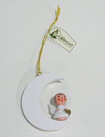 マラソン最大10倍!【クリスマス用品 】ULBRICHT:ウルブリヒト・白い月の聖天使[ Christmas:クリスマスオーナメント ]