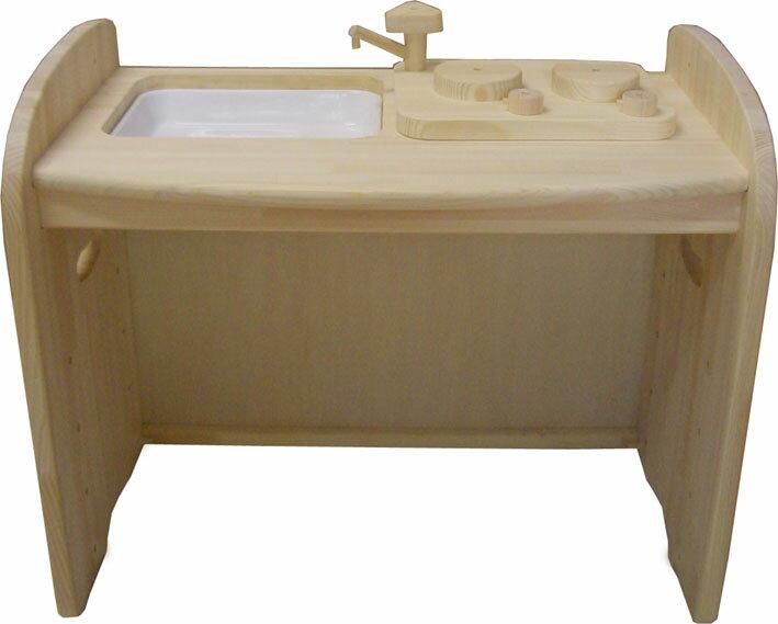 木の香りに包まれます。木遊舎ひのきキッチンテーブル(白木)【送料無料!】