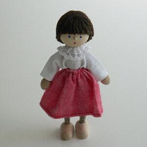 【ドイツ:ヘアヴィック社】ドールハウス人形お母さん