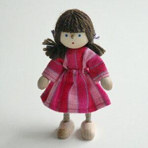 【ドイツ:ヘアヴィック社】ドールハウス人形女の子
