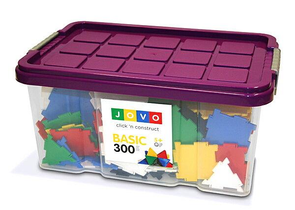【知育玩具】JOVOジョボブロック300ピース【楽ギフ_包装】【楽ギフ_のし】