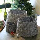 【オリジナルクリスマス用品・入荷しました!】ツリースタンドカバーバスケットL★Tree Base cover[ Christmas:クリ…