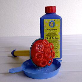 【水遊び&しゃぼん玉】【PUSTEFIX:プステフィクス・トランペット】シャボン玉シャワーにも♪ドイツの壊れにくく安全なしゃぼん玉