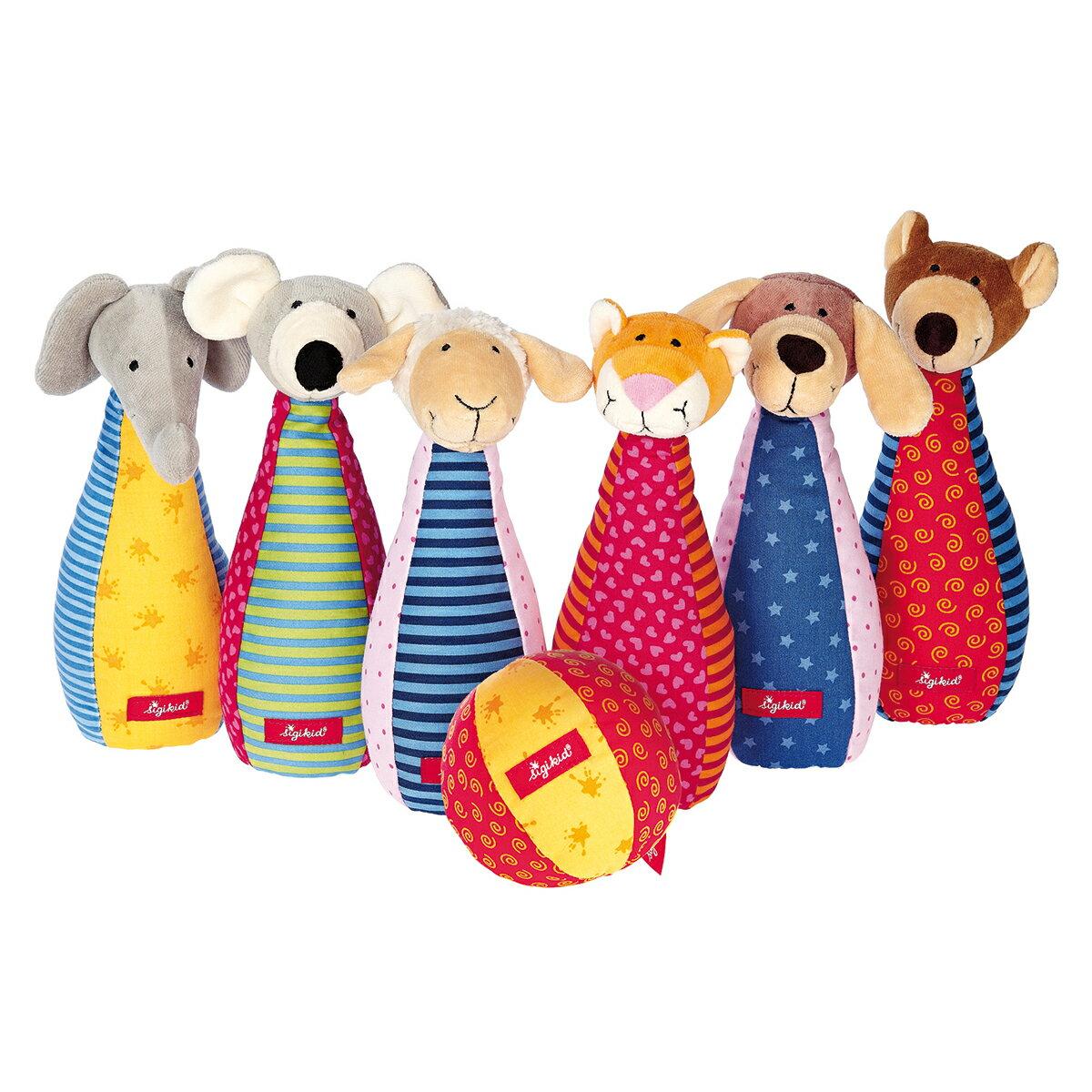 【ベビー向けおもちゃ】ボーネルンド柔らか素材で、楽しいよ!アニマルボーリング