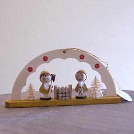 【クリスマス用品】リヒャルト・グレーザー・アーチ:小さなトムテ
