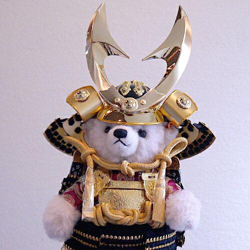 【Steiff:シュタイフ五月人形】限定入荷!鎧をまとったテディベア・サムライ2019 端午の節句