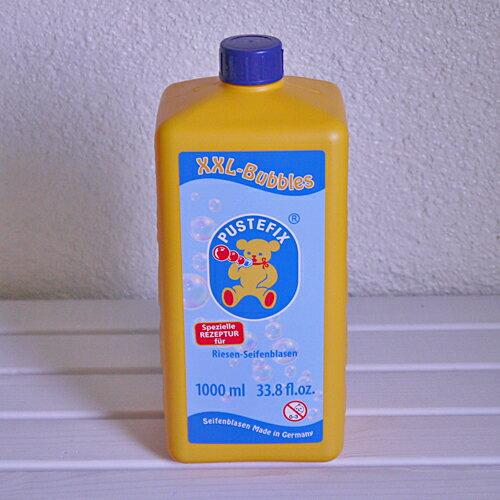 【水遊び&しゃぼん玉】【PUSTEFIX:プステフィクス】NEW!バブルスティックス用補充液1000ml