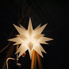 【クリスマス用品・入荷しました!】40cmベツレヘムの星ライト:トランスペアレントSpecial Item ヘルンフート[ Christmas:クリスマス ]