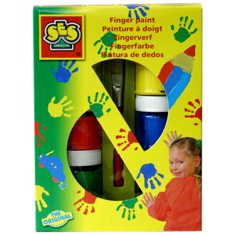 In stock now! Paint and draw freely finger! Fingerpaint 6 color set 10P01Sep13