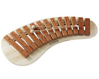 【木のおもちゃ&楽器・あす楽対応】叩きやすいデザイン。正確な音。【 BorneLund:ボーネルンド 】パレットシロフォン【お誕生日・ご出産祝】人気商品【送料無料!】【楽ギフ_包装】【楽ギフ_のし】