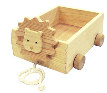 木遊舎・ライオン箱車【楽ギフ_包装】【楽ギフ_のし】