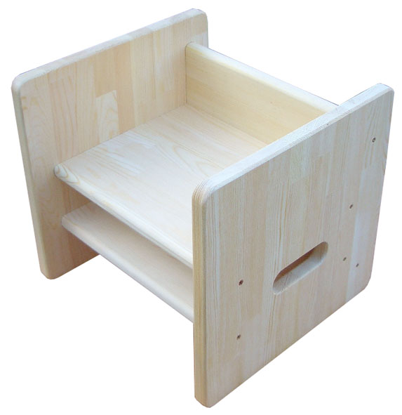 木遊舎・ちびっこチェア ステップ4(白木)【楽ギフ_包装】【楽ギフ_のし】