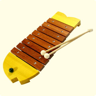 Children's first instrument ♪ bornelund fish xylophone popular product 10P01Sep13
