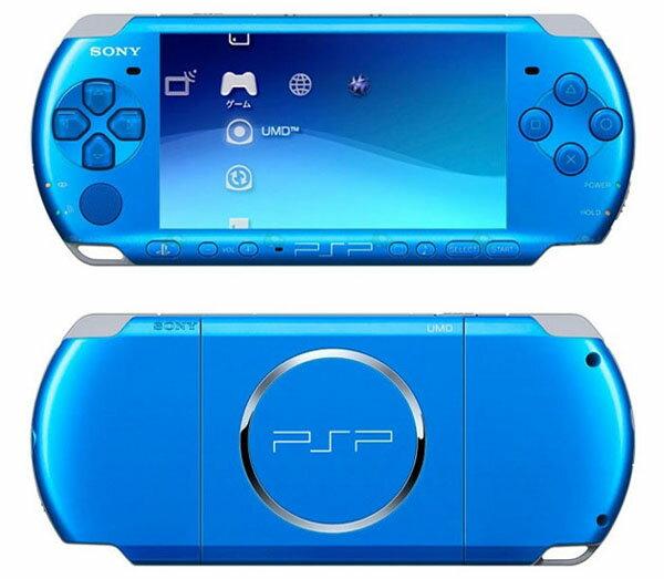 【新品】PSP バイブラント・ブルー PSP-3000VB 【国内正規品】プレイステーションポータブル ゲーム機