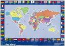 【幼児・小学生・中学生にオススメ 英語教材】ワン・ワールド・マップ One World Map