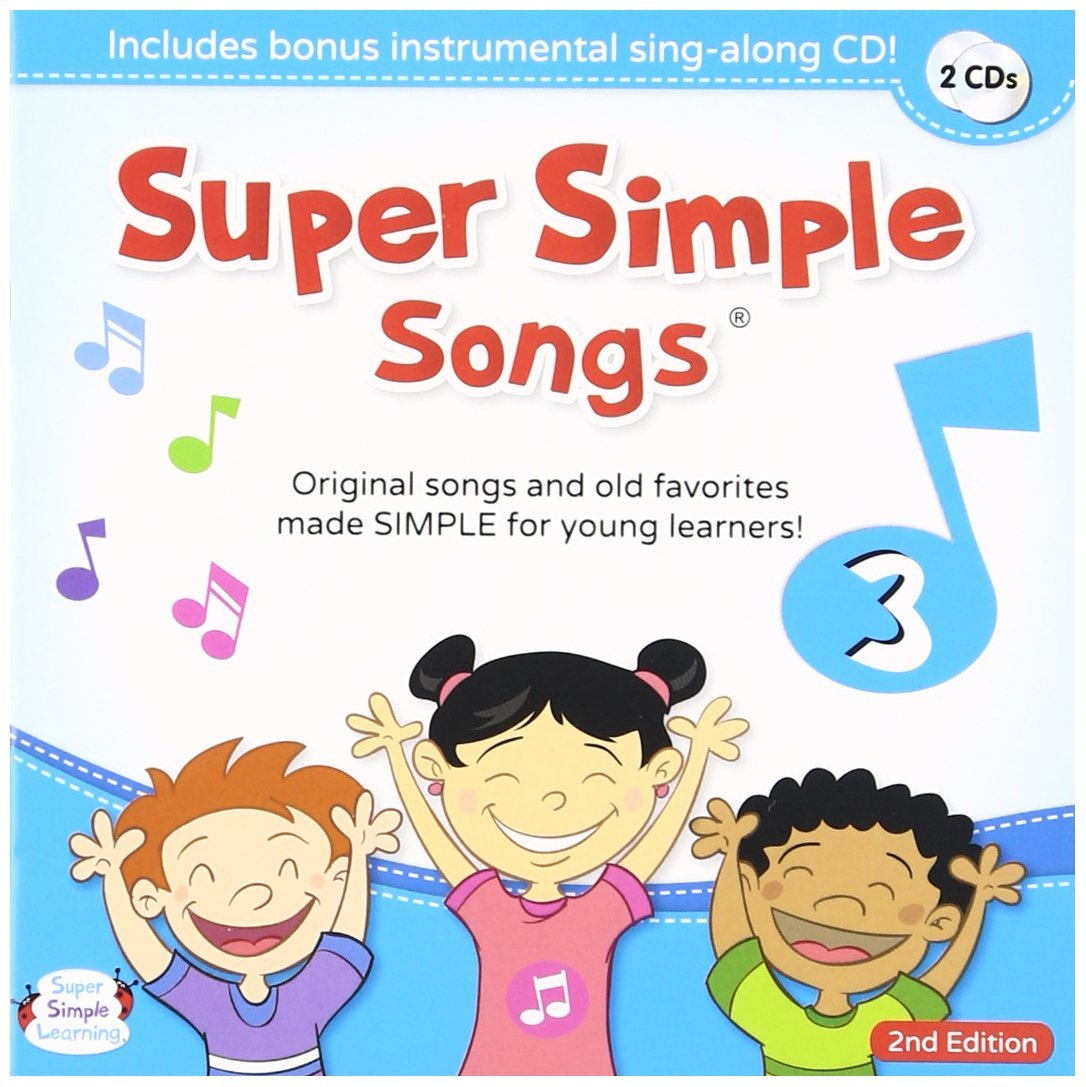 Super Simple Songs CD 3 (2nd Edition)